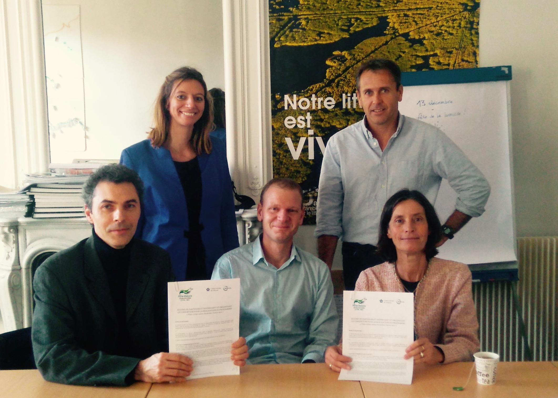 Signature Convention de Partenariat CdL-UICN France Décembre 2016
